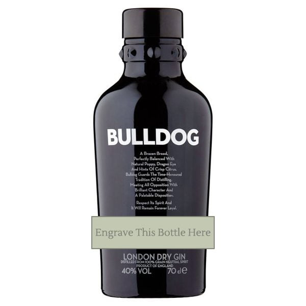 Bulldog Gin - Personalised
