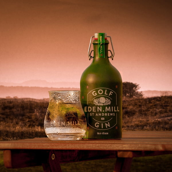 Eden Mill Golf Gin 50cl Inspired By The Scottish Coastal
