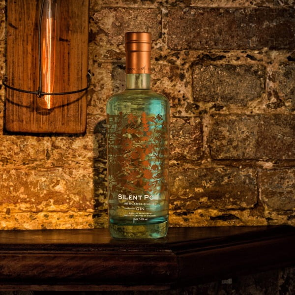 Silent pool gin 70cl surrey based english gin taste gin - Silent pool gin ...