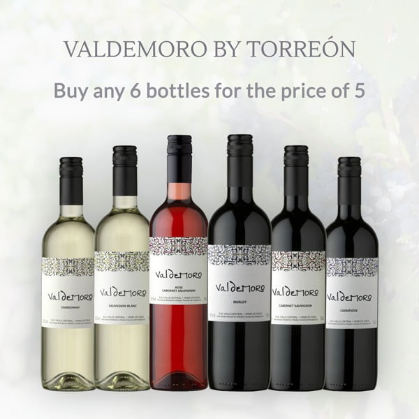 Valdemoro - 6 Bottles for Price of 5
