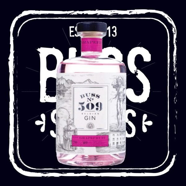 Buss No 509 Pink Grapefruit Gin