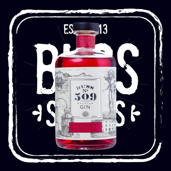 Buss No 509 Raspberry Gin