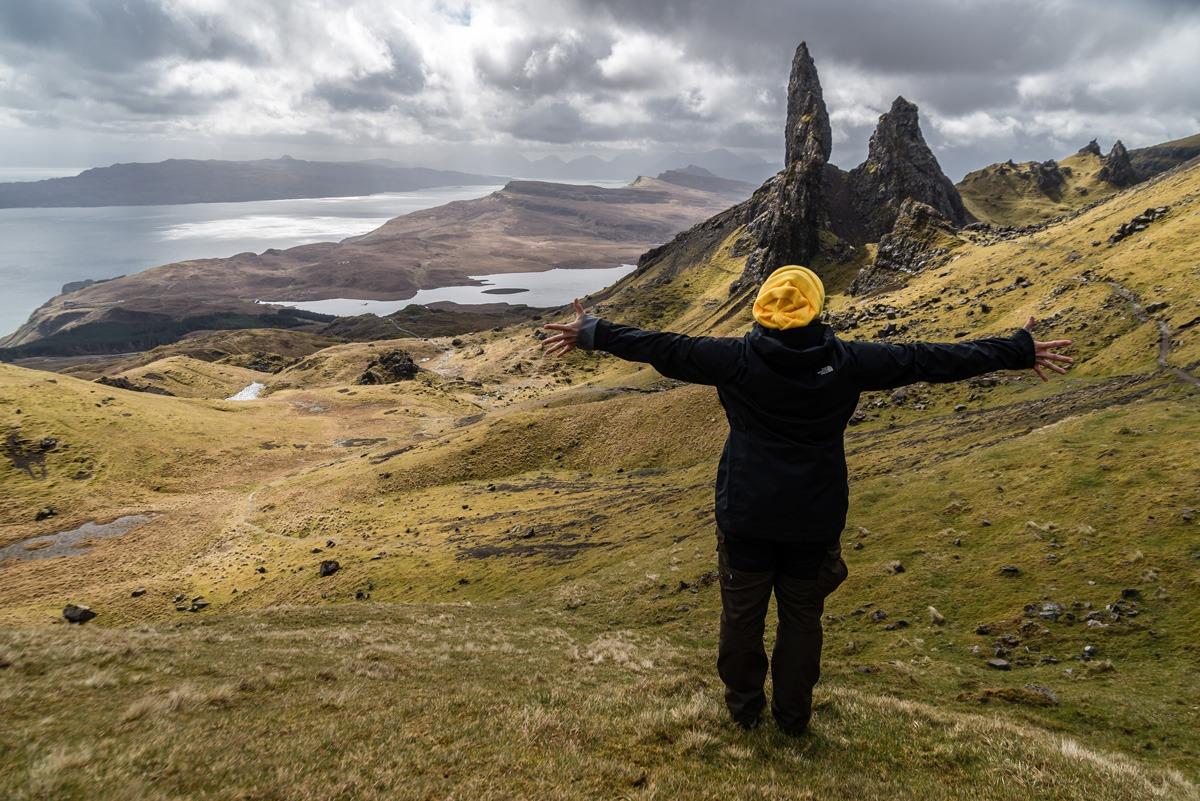 Scotland - It's View and Scottish Gin
