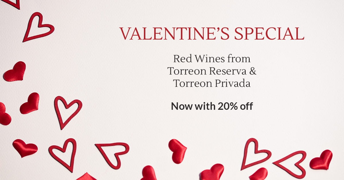 Valentine's Red Wine Offer