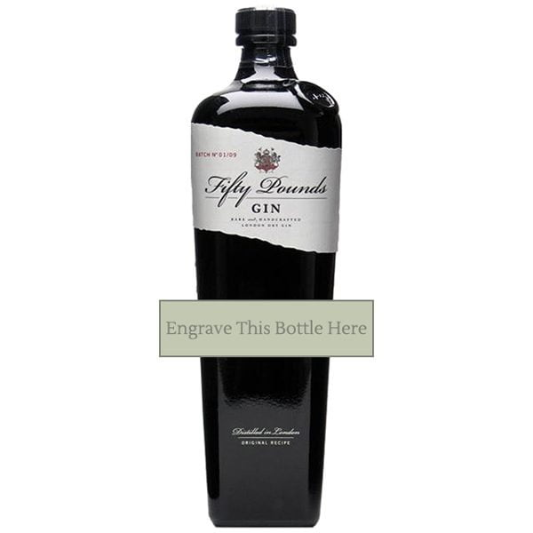 Fifty Pounds Gin - Personalised