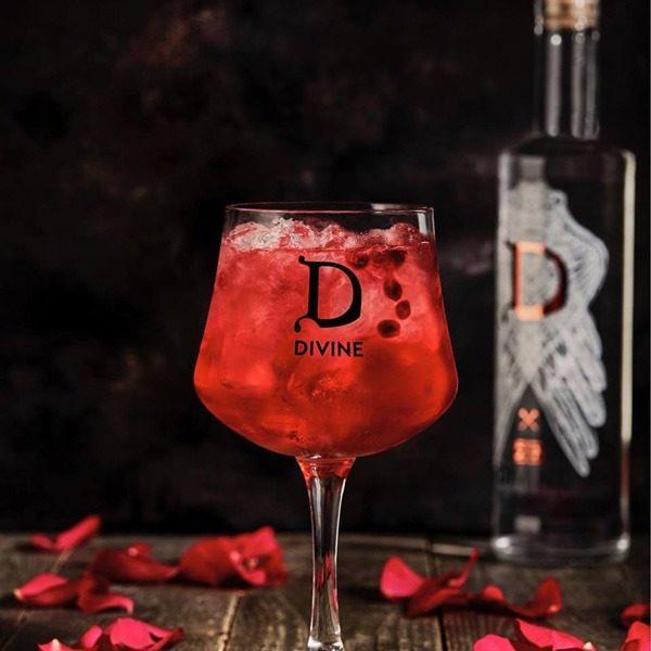 Gin Divine Raspberry