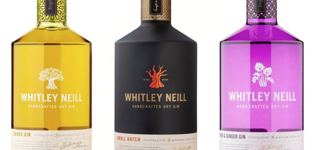 Whitley Neill Gin Range