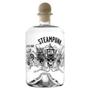steam punk gin bottle