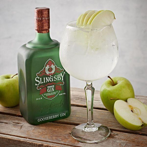 Slingsby Gooseberry Gin Spritz