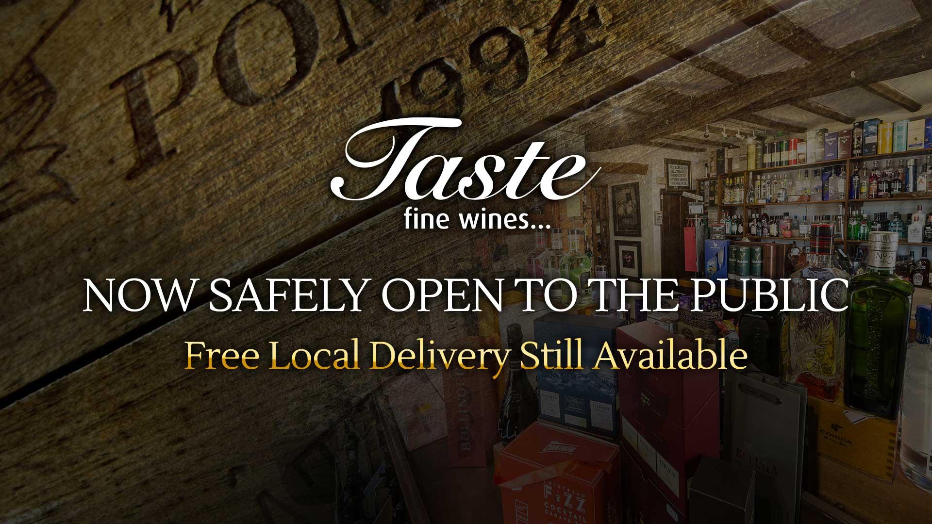 Taste - Shop Now Open