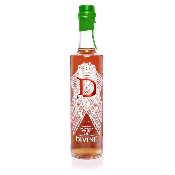 gin divine strawberry kiwi